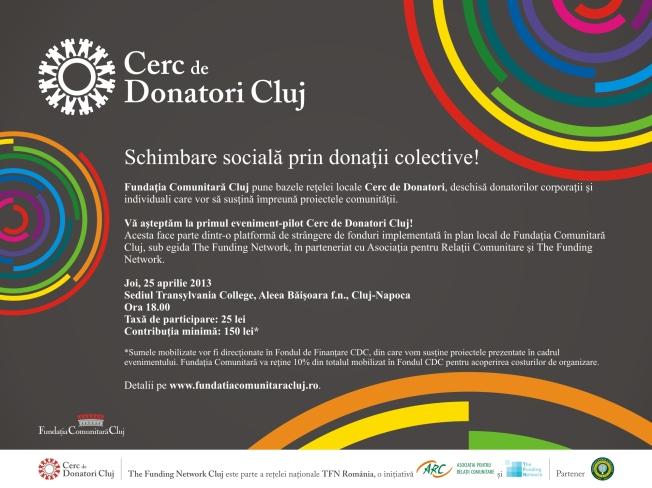 invitatie CD Cluj